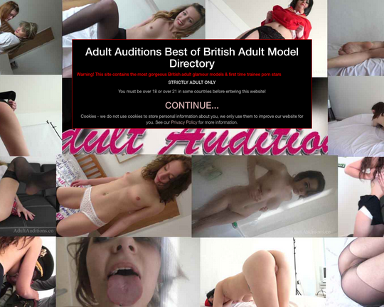 Adult Auditions Logo