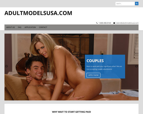 Adult Models USA Logo