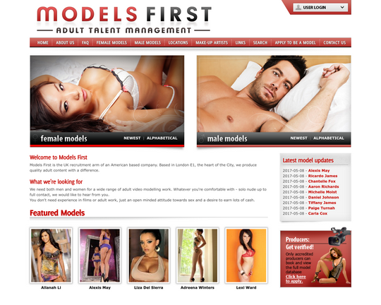 Models First Logo